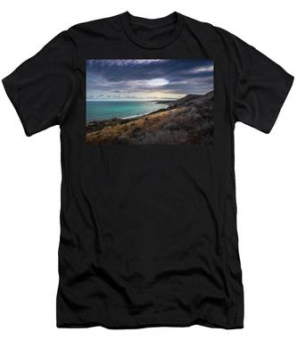 Corral Canyon Malibu Trail Men's T-Shirt (Athletic Fit)