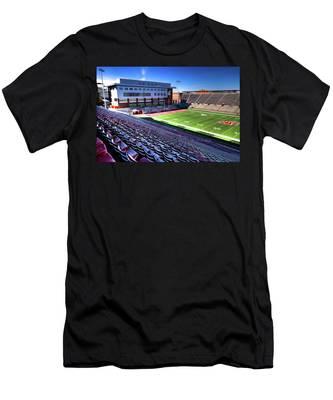 Cougar Football Complex At Martin Stadium Men's T-Shirt (Athletic Fit)