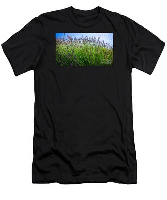Country Lavender II Men's T-Shirt (Athletic Fit)