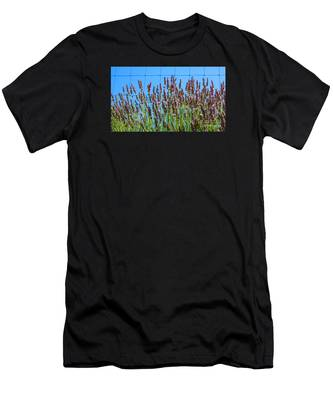 Country Lavender IIi Men's T-Shirt (Athletic Fit)