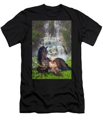 Country Memories 1 Men's T-Shirt (Athletic Fit)