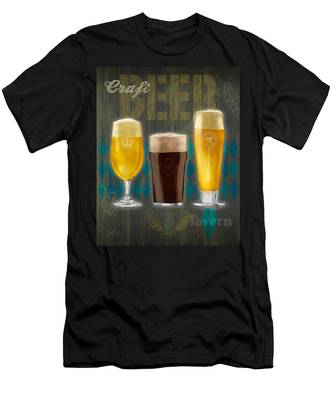 Craft Beer Men's T-Shirt (Athletic Fit)