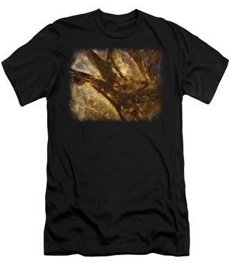 Crevasses Men's T-Shirt (Athletic Fit)
