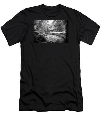 Crossing Paths  Men's T-Shirt (Athletic Fit)
