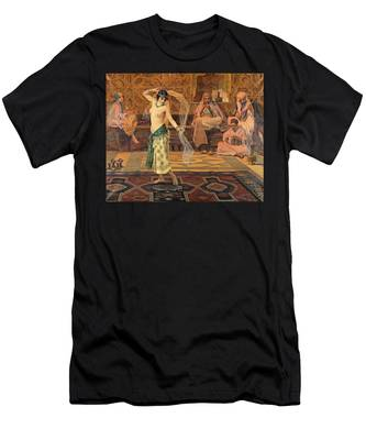 Dance Of The Seven Veils Men's T-Shirt (Athletic Fit)