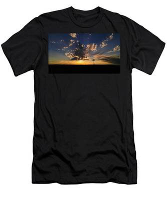 Men's T-Shirt (Athletic Fit) featuring the photograph Day Is Done by Carl Young