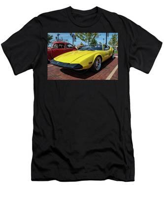 De Tomaso Pantera Men's T-Shirt (Athletic Fit)