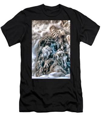 Dog Falls Men's T-Shirt (Athletic Fit)