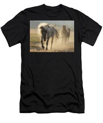 Dusty Sunrise Men's T-Shirt (Athletic Fit)