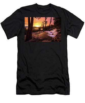 Eagle Falls Sunrise Men's T-Shirt (Athletic Fit)