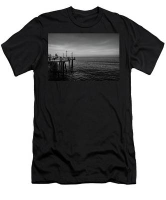 Early Morning Redondo By Mike-hope Men's T-Shirt (Athletic Fit)