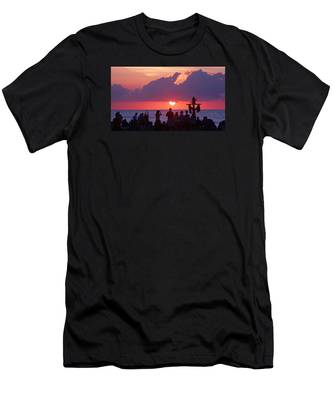 Easter Sunrise Beach Service Men's T-Shirt (Athletic Fit)