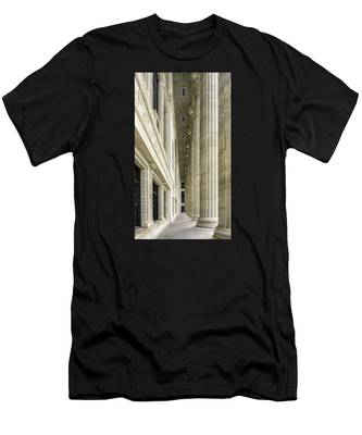 Men's T-Shirt (Athletic Fit) featuring the photograph Education by Brad Wenskoski