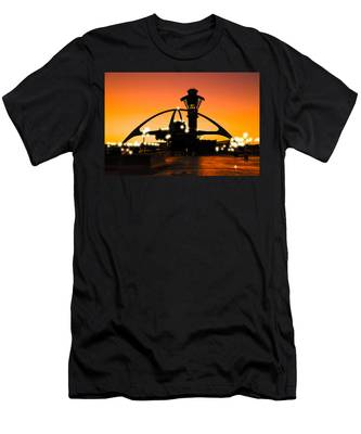 Encounters Lax With Light Men's T-Shirt (Athletic Fit)
