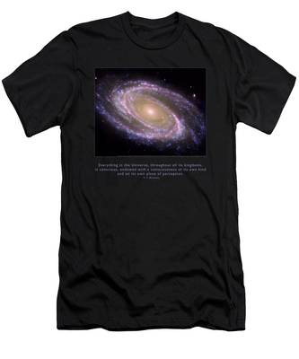 Everything Is Conscious Men's T-Shirt (Athletic Fit)