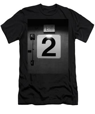 Exit Two Men's T-Shirt (Athletic Fit)