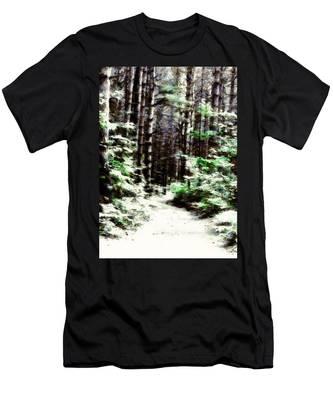 Fantasy Forest Men's T-Shirt (Athletic Fit)