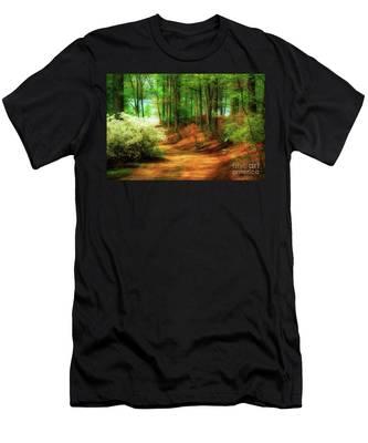 Favorite Path Men's T-Shirt (Athletic Fit)