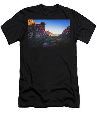 Fay Canyon Vista Men's T-Shirt (Athletic Fit)