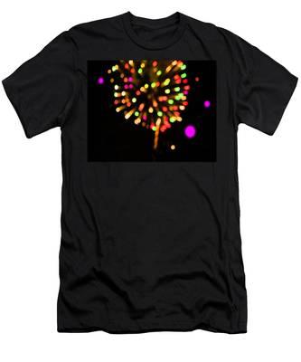 Firework Men's T-Shirt (Athletic Fit)