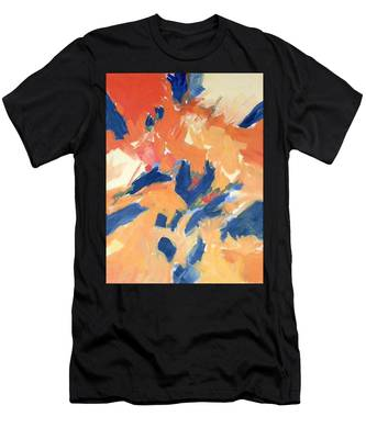 Fleeing Crows Men's T-Shirt (Athletic Fit)