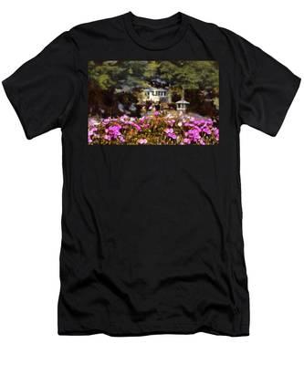 Flower Box Men's T-Shirt (Athletic Fit)