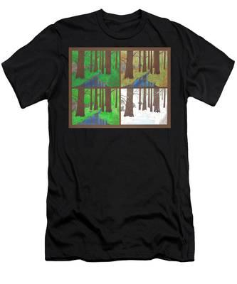 Four Seasons Men's T-Shirt (Athletic Fit)