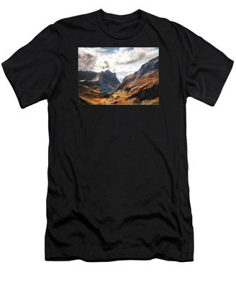 French Alps Men's T-Shirt (Athletic Fit)