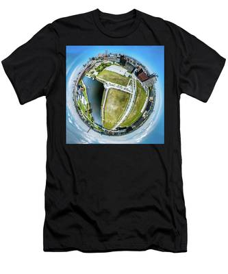 Freshwater Way Little Planet Men's T-Shirt (Athletic Fit)