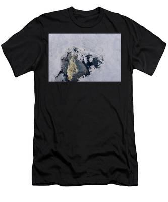 Frozen Rock Men's T-Shirt (Athletic Fit)