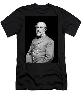 General Robert E Lee - Csa Men's T-Shirt (Athletic Fit)