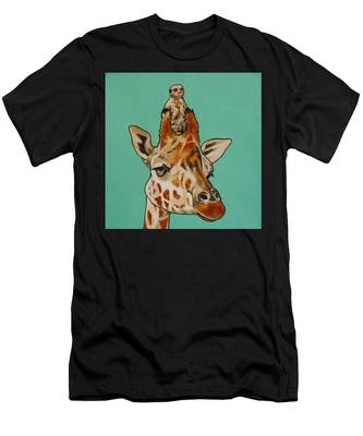 Gerald The Giraffe Men's T-Shirt (Athletic Fit)