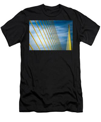 Golden Glow Of Tampa Men's T-Shirt (Athletic Fit)