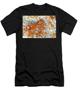 Golden Lichen Men's T-Shirt (Athletic Fit)