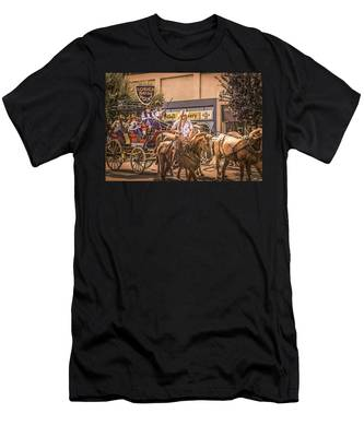 Goshen Mounted Police Men's T-Shirt (Athletic Fit)
