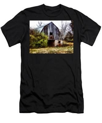 Gray Barn Men's T-Shirt (Athletic Fit)