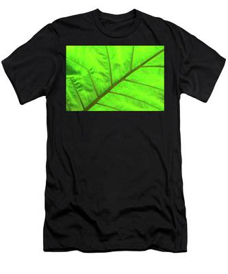 Green Abstract No. 5 Men's T-Shirt (Athletic Fit)