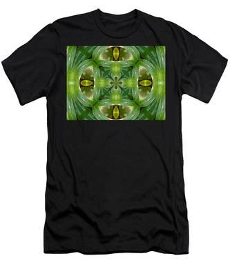 Green Glow Men's T-Shirt (Athletic Fit)