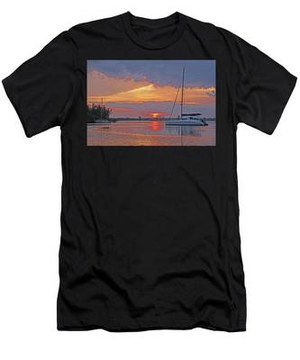 Greet The Day Men's T-Shirt (Athletic Fit)