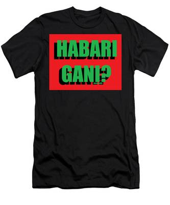 Habari Gani Men's T-Shirt (Athletic Fit)