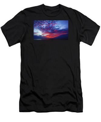Hand Of God At Sunrise Men's T-Shirt (Athletic Fit)