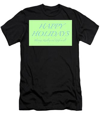 Happy Holidays - Day 4 Men's T-Shirt (Athletic Fit)