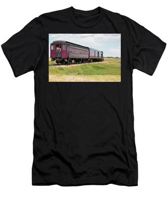 Heading To Town Men's T-Shirt (Athletic Fit)