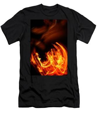 Heavenly Flame Men's T-Shirt (Athletic Fit)