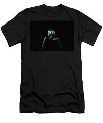 Hidden In Shadows Men's T-Shirt (Athletic Fit)
