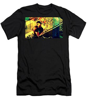 Hidden Stranger Men's T-Shirt (Athletic Fit)