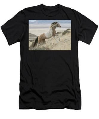 Horse Power Men's T-Shirt (Athletic Fit)