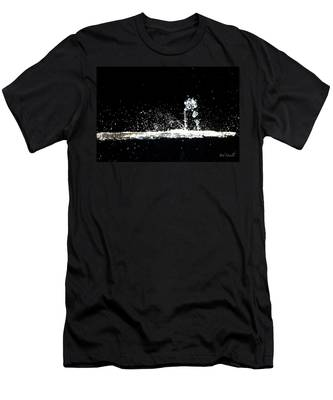 Horses And Men In Rain Men's T-Shirt (Athletic Fit)