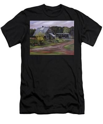 Humpals Barn Men's T-Shirt (Athletic Fit)