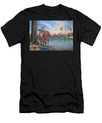 Hunters Dream Sold Men's T-Shirt (Athletic Fit)